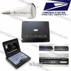 10.1 FDA CMS600P2 CE Digital Laptop Ultrasound Scanner Machine CONVEX 3.5Mhz, US