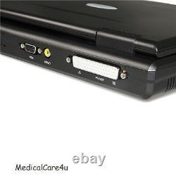 2 Probes Veterinary Ultrasound Scanner Digital Laptop VET Machine, Convex/Micro