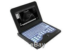 3 Probes Portable Laptop Ultrasound Scanner Machine Convex+ Linear+ Transvaginal