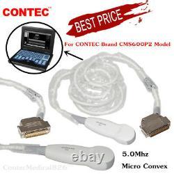5.0Mhz Micro Convex / Cardiac Probe for Ultrasound Scanner Machine CMS600P2, USA