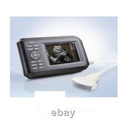 5.5 inch Handheld Ultrasound Machine Scanner Digital+Convex Probe For Human FDA