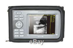 5 Digital Handheld Ultrasound Scanner Machine 7.5MHz Linear Probe VET Aniaml AA