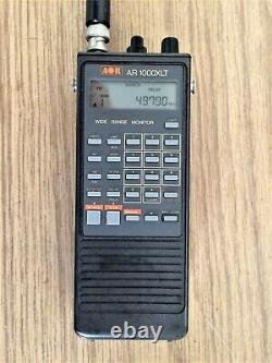 AOR AR-1000 Handheld HF/VHF/UHF Scanner / Receiver with CD Copy of Guide + Manual