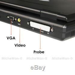 Animal Pet Vet laptop ultrasound scanner machine 2 veterinary probes digital CE