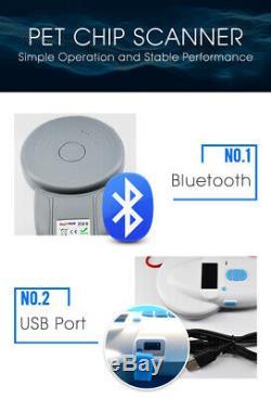 Animal RFID Pet Chip ID Reader Scanner Microchip FDX-A ISO USB Handheld Digital
