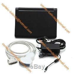 CE Portable laptop machine, Digital Ultrasound scanner Systems, 2 Probes CONTEC