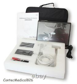 CMS600P2 Handheld Ultrasound Scanner Laptop Machine 2 Probes Cardiac+Linear, USA