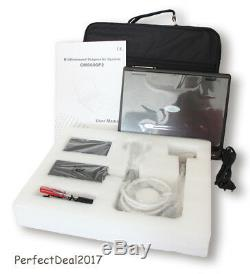 CMS600P2 LCD Ultrasound Scanner Laptop Ultrasonic Machine 3.5Mhz Convex Probe, CE