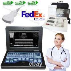 CMS600P2 Laptop Ultrasound Scanner Ultrasound Machine 3.5MHz Convex Probe, USA