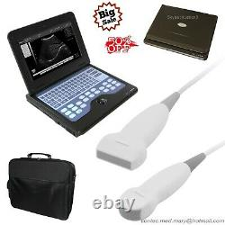CONTEC B-Ultrasound Diagnostic systems, Ultrasound Scanner, 2 probes, CMS600P2 NEW