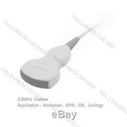 CONTEC CMS600P2 Digital Laptop Ultrasound Scanner Machine, 3.5M Abdomen probe, ce