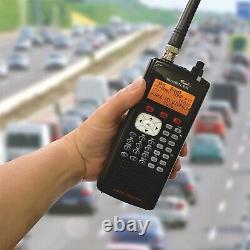 Digital Handheld UHF VHF Police Radio Scanner Portable Fire Safety Weather Alert
