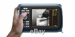 Digital Handheld Ultrasound Scanner/Machine 7.5MHz Linear Probe Human & Box FDA