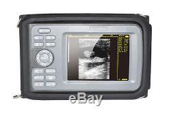 Digital Handheld Ultrasound Scanner Ultrasonic Scanner+Rectal Probe Vet Use USA