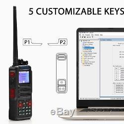 Digital Police Scanner 3000 Channel DMR MAX POWER Scanner & 2-way Radio