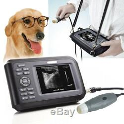 Digital Portable Handheld Veterinary Ultrasound Scanner Machine Small Animal A+