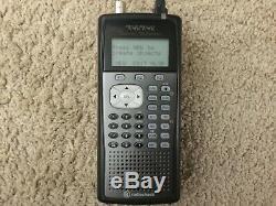 Digital Trunking Handheld Radio Scanners (5) RadioShack Pro-651 parts or repairs
