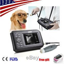 Digital Veterinary Ultrasound Scanner Portable Machine 3.5Mhz probes 2y warranty