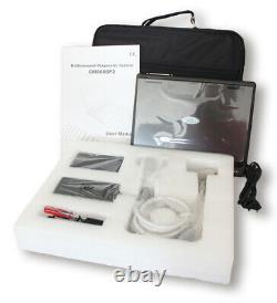 Digital ultrasound scanner Portable Laptop Machine 3.5M Convex probe 2Y WARRANTY