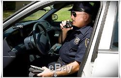 Emergency Radio Scanner Police Fire Portable Handheld Digital Aircraft Marine