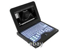 FDA&CE Portable Ultrasound Scanner Digital Laptop Machine 2 Probes CMS600P2, USA