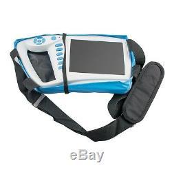 FDA Handheld 7inch LCD Digital Palmtop Ultrasound Scanner+Convex Linear Probe
