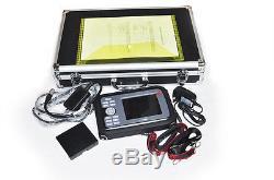 FDA Handheld Digital Ultrasound Scanner Machine Linear Probe+ USA SPO2 Oximeter