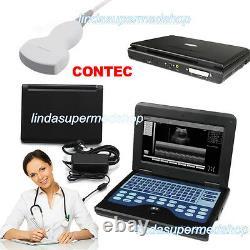 Full Digital Portable Laptop UltraSound Scanner, 3.5M Convex Probe, systems CE