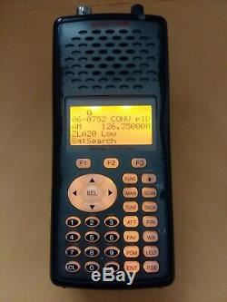 GRECOM PSR-500 APCO P25 Digital Trunking Handheld Radio Scanner, AC Adapter