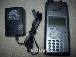 GRECOM PSR-500 HANDHELD DIGITAL TRUNKING SCANNER with AC Adapter