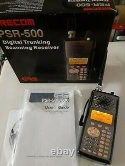 Gre Psr-500 Digital Scanner P25 Handheld