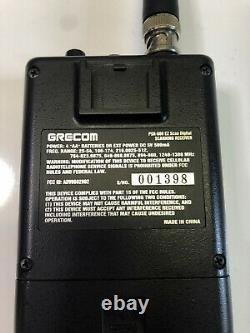 Grecom GRE PRS-800 EX Scan Digital Scanning Receiver. TESTED