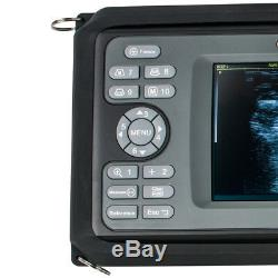 Handheld 5.5inch Ultrasound Scanner Digital 6.5 Vaginal+ Micro-convex Probes FDA