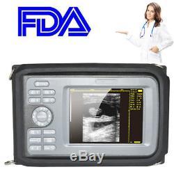 Handheld Digital Veterinary Ultrasound Scanner Machine Equine Bovine w Box Fedex