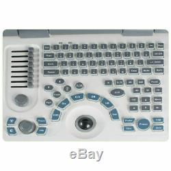 Handheld Notebook Full Digital Ultrasound Scanner Diagnostic System Convex Probe