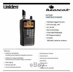 Handheld Portable Police Radio Scanner 500 Chanels Digital Conventional Uniden
