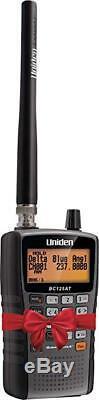 Handheld Portable Police Radio Scanner 500 Channel Digital Alpha Uniden BC125AT
