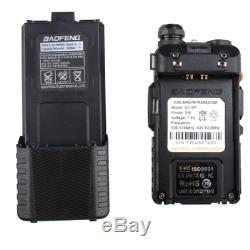 Handheld Radio Scanner 2-Way Upgrade Digital Transceiver Police HAM VHF Antenna