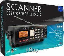 Handheld Radio Scanner Digital Fire Police Transceiver Whistler WS1065 Desktop