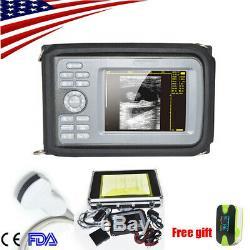 Handheld Ultrasound Scanner/Machine Digital +Convex Transducer Human +Oximeter