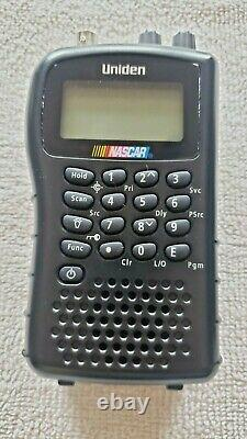 Lot of 2 Uniden NASCAR Bearcat BC72XLT Digital Scanner Working with Extras