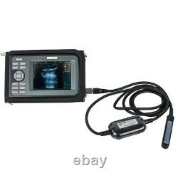 Medical Digital Handheld Ultrasound Scanner Machine Rectal Probe Veterinary Use