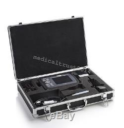 Mini Handheld 5.5'' LCD Digital Ultrasound Scanner System Convex Transvaginal CE