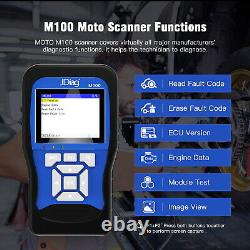 Motorcycle Fault Code Reader Scanner OBD2 Cable Harness Diagnostic Tester Tool
