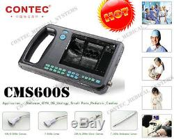 NEW CMS600S Digital Portable PalmSmart Ultrasound Scanner machine w Convex probe