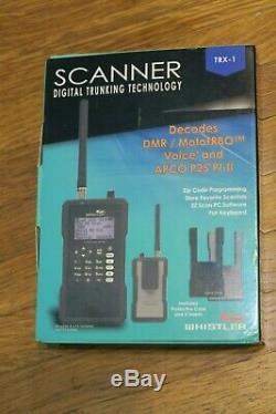 NEW Whistler TRX-1 Handheld DMR/MotoTRBO Digital Trunking Scanner FREE SHIP