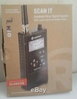 New Open! Radioshack Classics SCAN IT Handheld iScan Digital Scanner PRO-668