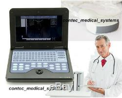 New Portable Ultrasound Scanner machine with 3.5mhz Convex probe Medical device