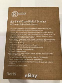 New! Radio Shack Handheld Digital Trunking Scanner Pro 668 2000668