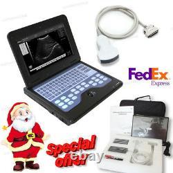 New US Digital Ultrasound Scanner Portable Laptop Machine 3.5 Convex, 2Y warranty